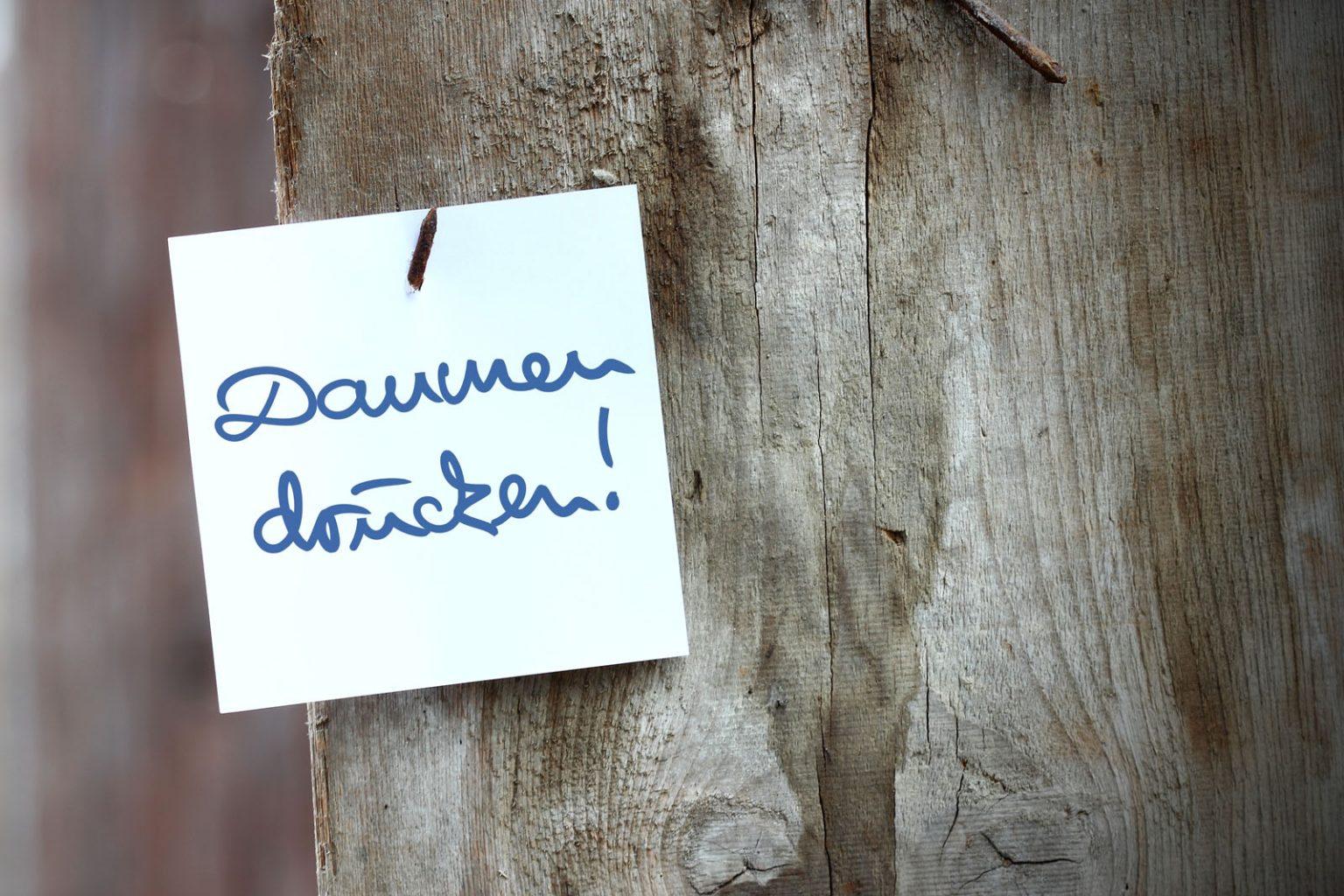 """Impfstart in Friesdorf – jetzt heißt es """"Daumen drücken""""!"""