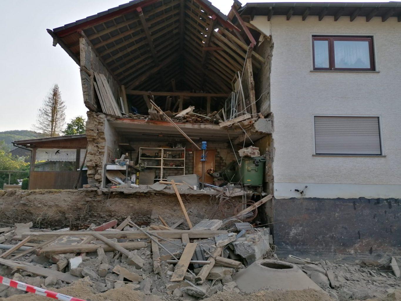 Zerstörtes Haus in Kirchsahr